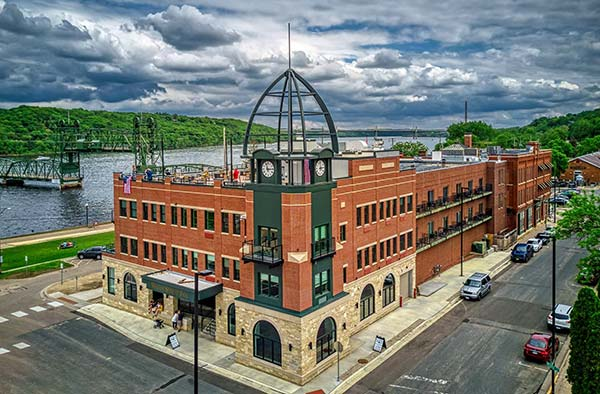 The Water Street Inn the newly remodeled hotel in Stillwater Minnesota